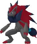 Zoroark-Sprite aus Pokédex 3D Pro