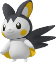 Emolga-Sprite aus Pokédex 3D Pro