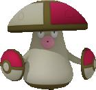 Hutsassa-Sprite aus Pokédex 3D Pro