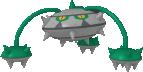 Tentantel-Sprite aus Pokédex 3D Pro