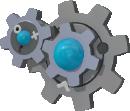Kliklak-Sprite aus Pokédex 3D Pro