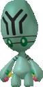 Pygraulon-Sprite aus Pokédex 3D Pro