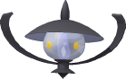 Laternecto-Sprite aus Pokédex 3D Pro