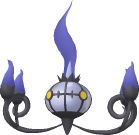 Skelabra-Sprite aus Pokédex 3D Pro