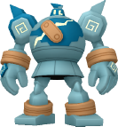 Golgantes-Sprite aus Pokédex 3D Pro