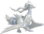 Reshiram-Sprite aus Pokédex 3D Pro