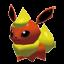 Flamara-Sprite aus Rumble U