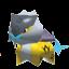 Raikou-Sprite aus Rumble U