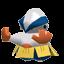 Hariyama-Sprite aus Rumble U