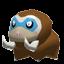 Mamutel-Sprite aus Rumble U