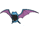 Golbat-Sprite (XY, normal, vorne)