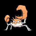 Kingler-Sprite (XY, normal, vorne)