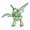 Sichlor-Sprite (XY, normal, vorne)