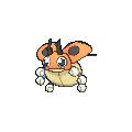 Ledyba-Sprite (XY, normal, vorne)