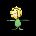Sonnflora-Sprite (XY, normal, vorne)