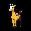 Girafarig-Sprite (XY, normal, vorne)