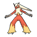 Lohgock-Sprite (XY, normal, vorne)