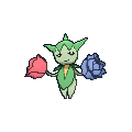 Roselia-Sprite (XY, normal, vorne)