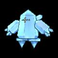 Regice-Sprite (XY, normal, vorne)