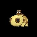 Hippopotas-Sprite (XY, normal, vorne)