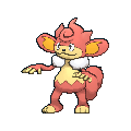Grillchita-Sprite (XY, normal, vorne)