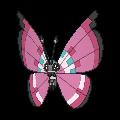 Vivillon-Sprite (XY, normal, vorne)