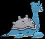 Lapras-Sprite (XY, normal, Rückseite)