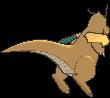 Dragoran-Sprite (XY, normal, Rückseite)