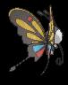 Papinella-Sprite (XY, normal, Rückseite)