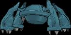 Metagross-Sprite (XY, normal, Rückseite)