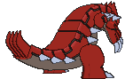 Groudon-Sprite (XY, normal, Rückseite)