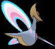 Cresselia-Sprite (XY, normal, Rückseite)