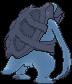 Karippas-Sprite (XY, normal, Rückseite)