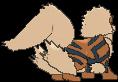 Arkani-Sprite (XY, normal, Rückseite)