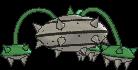 Tentantel-Sprite (XY, normal, Rückseite)