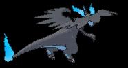 Glurak-Sprite (XY, normal, Rückseite)