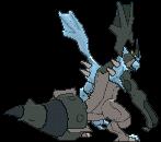 Kyurem-Sprite (XY, normal, Rückseite)