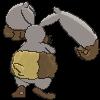 Grebbit-Sprite (XY, normal, Rückseite)