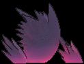 Gengar-Sprite (XY, normal, Rückseite)