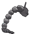 Onix-Sprite (XY, normal, Rückseite)