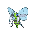 Bibor-Sprite (XY, Shiny, vorne)