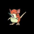Rattikarl-Sprite (XY, Shiny, vorne)
