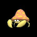Parasek-Sprite (XY, Shiny, vorne)