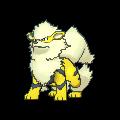 Arkani-Sprite (XY, Shiny, vorne)