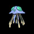 Tentoxa-Sprite (XY, Shiny, vorne)