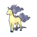 Gallopa-Sprite (XY, Shiny, vorne)