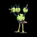 Dodri-Sprite (XY, Shiny, vorne)