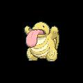 Schlurp-Sprite (XY, Shiny, vorne)