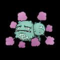 Smogmog-Sprite (XY, Shiny, vorne)