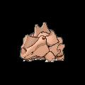 Rihorn-Sprite (XY, Shiny, vorne)
